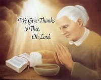 We Give Thanks To The Lord, Art Print 8x10