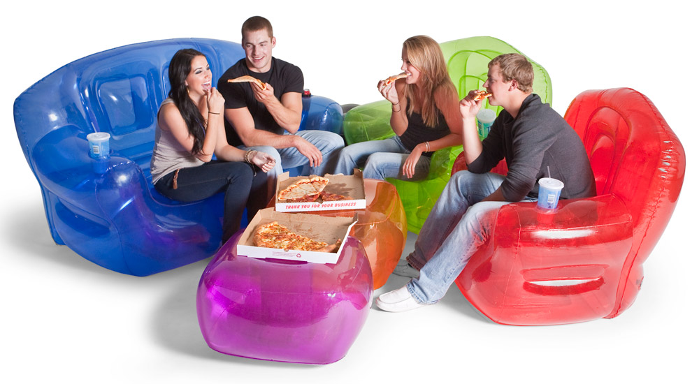 Real Cool Savings Inflatable Bubble Furniture : Retro and Hip !