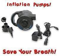 Intex Quick Fill 060  12V  DC Rechargeable Electric Air Pump
