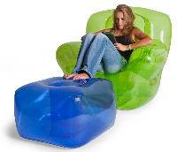 The Super Inflatable Foot Stool