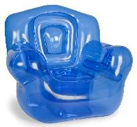 the super inflatable chair blue