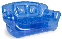 the super inflatable sofa blue