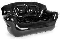 the super inflatable sofa black
