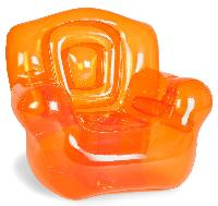 the super inflatable Chair orange