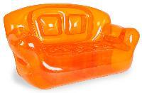 the super inflatable sofa orange