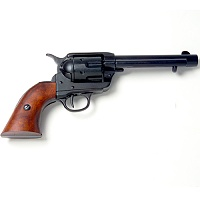 Old West Frontier Black Finish Replica Revolver
