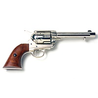 Old West Frontier Replica Nickel Revolver