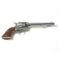 Old West Antique Grey Finish Replica Cavalry Barrel Revolver