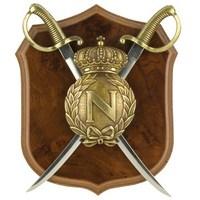 Napoleonic Shield & Letter Opener Sabers