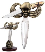 Airborne Dead Pirate Dagger with Stand